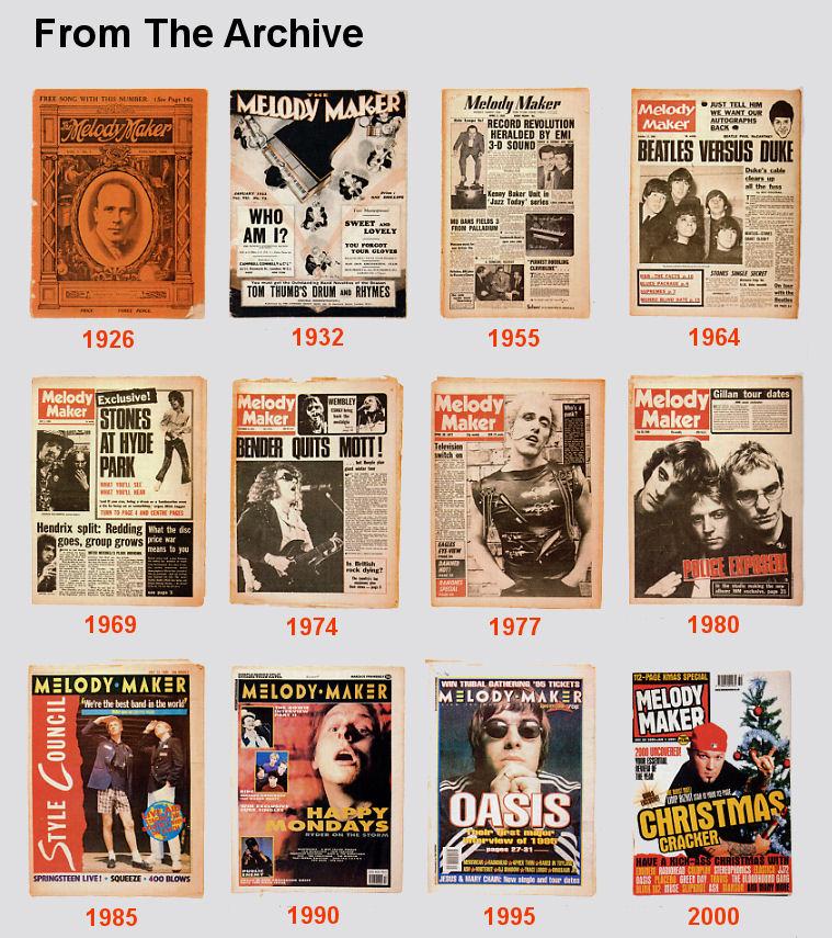 Rocklist net   Melody Maker Lists The '70's & '80's